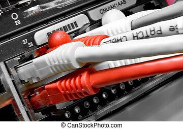 lappen, kabels