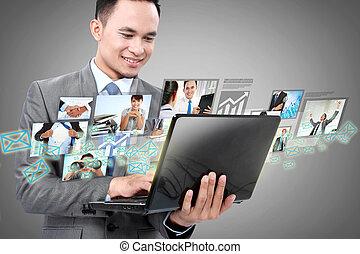 laptop , αρμοδιότητα ανήρ