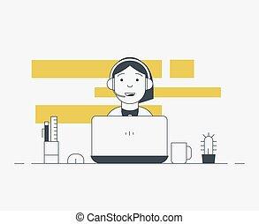 laptop , πρόσωπο , εργαζόμενος
