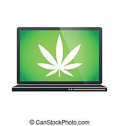 laptop, abbildung