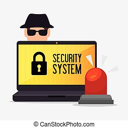 laptop alert security system hacker
