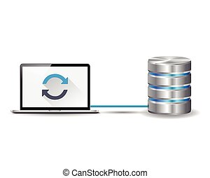 Laptop and database