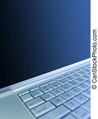 Laptop Background - Blue Laptop