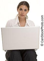 laptop, benutzer