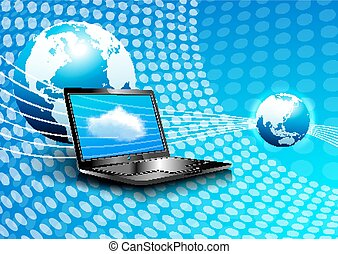 Laptop Cloud Computing