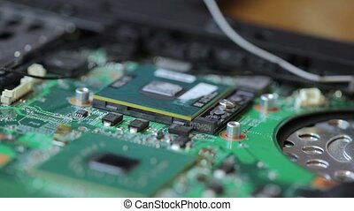 Laptop components repair
