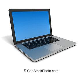laptop computer  3d illustration