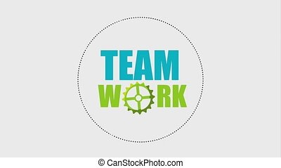 laptop computer people teamwork animation hd