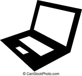 Laptop Computer Vector Icon