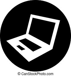 Laptop Computer Vector Icon