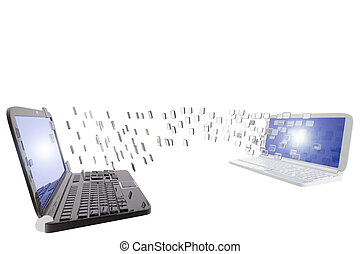 Laptop computers data sharing