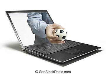 laptop, dynamiczny