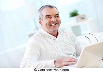 laptop, ember