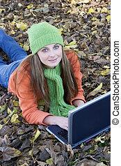 Laptop Girl