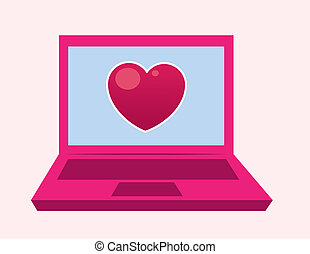 Laptop Heart