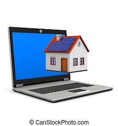 Laptop House
