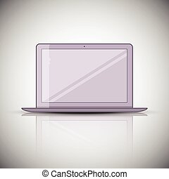 Laptop Icon illustration