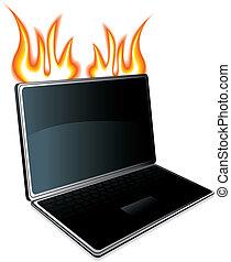 laptop, ikone