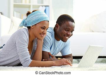 laptop, kommunizieren