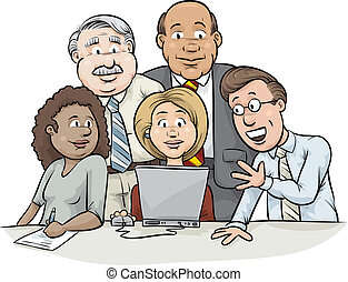 laptop, konsultacja