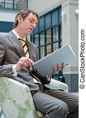 laptop, lettura