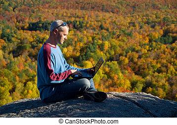 Laptop nature