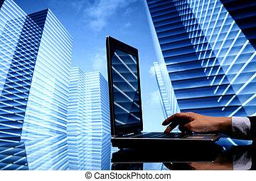 laptop, praca, finanse