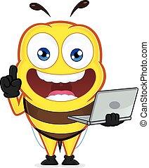 laptop, presa a terra, ape