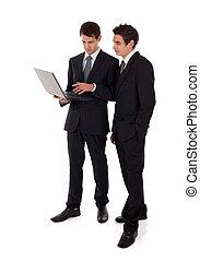 laptop, presentazione