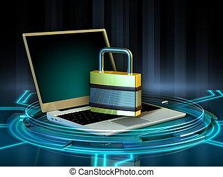 laptop, proteção