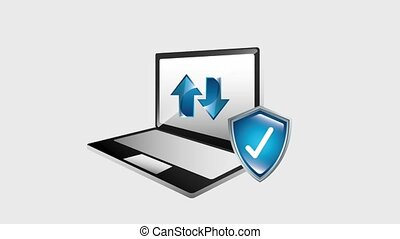 laptop shield protection data upload and download hd