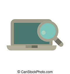 laptop technology search design