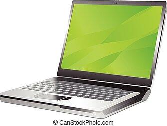 Laptop vector illustration