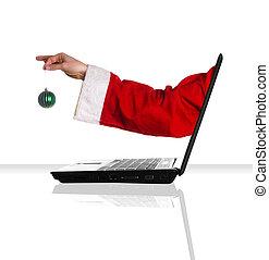 laptop, weihnachten