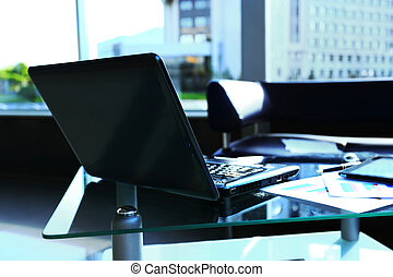 laptop with tablet