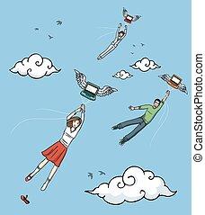 laptops, volare