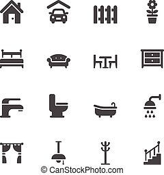 lar, ícones