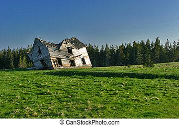 lar, abandonado