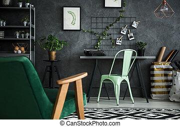 lar, apartamento, escritório, área