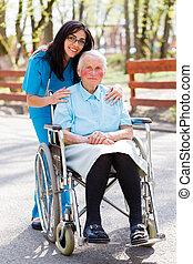lar, aposentadoria