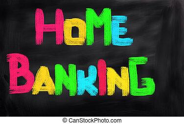 lar, conceito, operação bancária