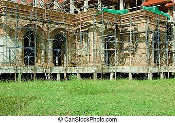 lar, construção,  currently, sob