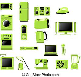 lar, eletrônico, relatado, aparelho