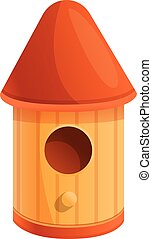 lar, estilo, ícone, caricatura, pássaro