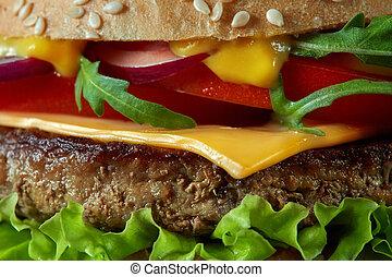 lar fez, gostoso, hambúrgueres