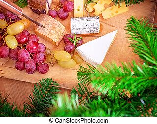 lar, jantar, natal