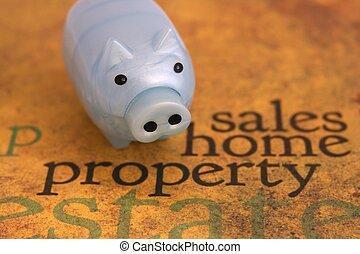 lar, propriedade, vendas