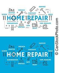 lar repara, ferramentas equipamento