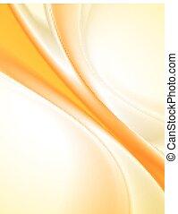 laranja, abstratos, fundo
