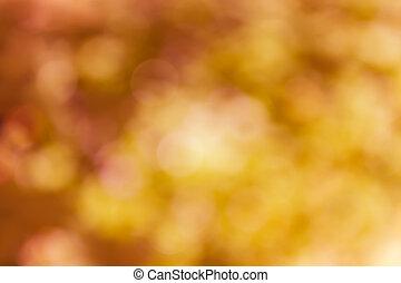 laranja, amarela, bokeh, abstratos, verão, fundo